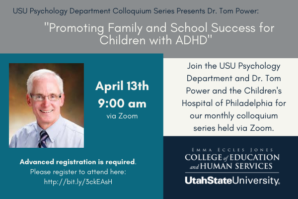 Promoting Family and School Success for Children with ADHD