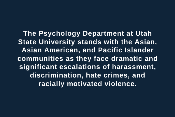 Asian, Asian American, and Pacific Islander Harassment, Discrimination, and Hate Crimes