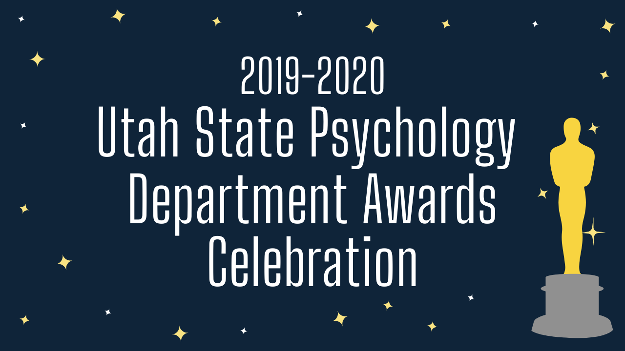 Psychology Department 2019-20 Awards