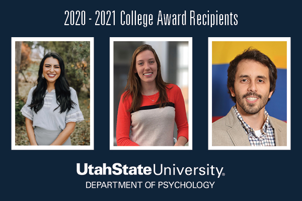 Three Psychology Students Selected for Annual College Awards