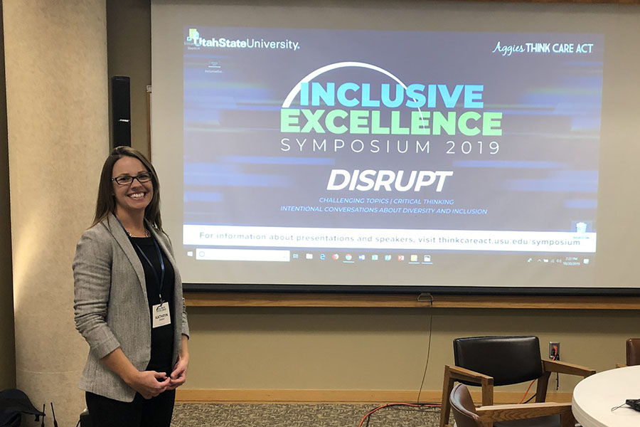 Psychology Department Students and Faculty Support USU's Inclusive Excellence Symposium